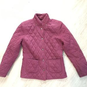 Esprit Long Sleeve Quilted Puffer Jacket Small